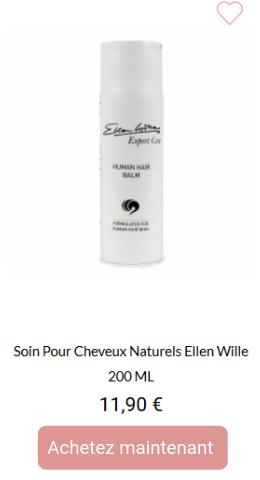 Soin balsam pour cheveux naturels